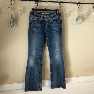 """Big Star """"Maddie"""" sz 25S jeans, flare leg!"""